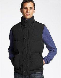 남성 구스 다운 조끼 브랜드 겨울 Gilet 재킷 남성 옴므 자유형 조끼 Gilet 다운 조끼 다운 재킷 Jassen 원정대 파카 자켓