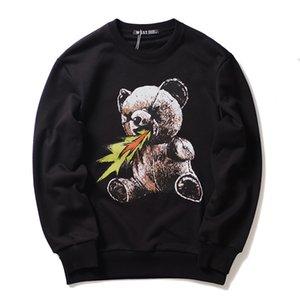 2020 Autumn new creative men's & women's sweater hip-hop fashion animal print round neck pullover couple sweater size S-XL