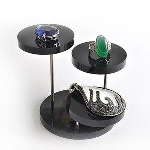 Moda Acrílico Stand Brinco Bracelete Alta Colar Jóias Titular Qualidade Anel Ring Display Ardhi