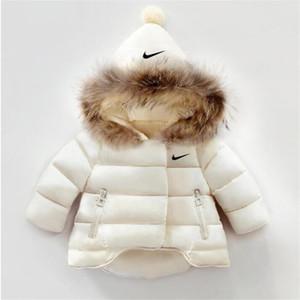 Freies Verschiffen der Kinder Oberbekleidung Jungen und Mädchen-Winter-warmer Mantel mit Kapuze Kinderkleidung Jungen Daunenjacke Kinderjacken 1-6 Jahre
