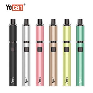 Yocan Apex Wax Pen 650mAh Battery Concentrate Dab Vaporizer with QDC Coil Adjustable Voltage Dabber Vape Pens DHL