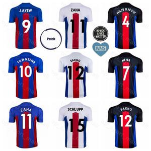 Palais 2020 2021 Football MILIVOJEVIC Jersey AYEW ZAHA VAN Aanholt McARTHUR Schlupp Benteke TOWNSEND MEYER SAKHO KOUYATE football Kits chemise