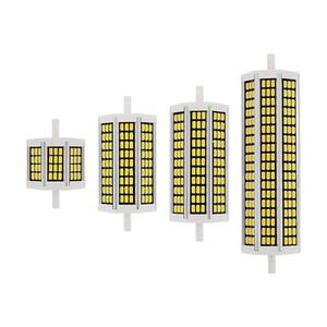 1pcs 10W 20W 25W 30W R7S LED Lampadina del cereale 78 millimetri 118 millimetri 135 millimetri 189 millimetri AC 220V SMD 5730 lampada alogena Sostituire proiettore della luce di illuminazione