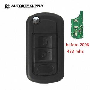 Yeni (1 adet) Araç-stil Landrover uzaktan anahtarı için (2008'den önce, 433 mhz) Discovery 3 (No çip) araba anahtarı AKLRC403 R6Mz #