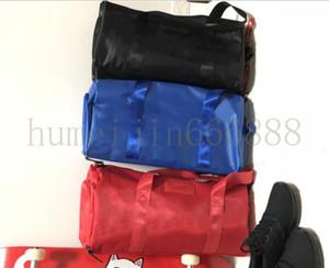 Fashion handbag large capacity cylindrical travel bag multi-function shoe bag fitness bag Messenger bags shoulder bags free shipping A01