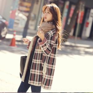 DUl3h 2020 الخريف جديد تشيان Songyi نفسه معطف سترة الكورية منتصف طول معطف نمط سترة فضفاضة 4pxjS الملابس سترة للمرأة