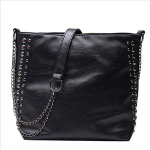2019 Hot Leather Bag For Women Handbag Large Capacity Lady Shoulder Bag High quality Crossbody Messenger Bag Black Grown