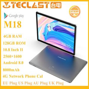Teclast M18 Tablet plus récent Deca de base 10,8 pouces IPS 2560 × 1600 Résolution 4 Go de RAM 128Go ROM 13MP arrière 5MP avant Appel réseau 4G