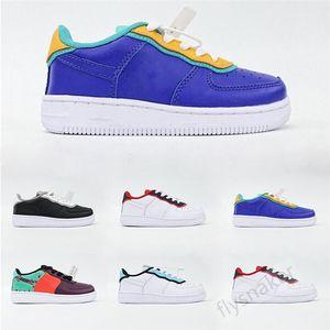Childrens LV8 Bordeaux Hyper Jade Total Orange Black 1 One USA Royal Blue Little Kids Sport Shoes Boy Low What The 90s Sneakers