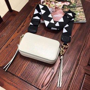 2020 nuova vendita calda elevata consistenza fotocamera borsa a tracolla tracolla larga Fashion Bag pelle bovina semplice stella borsa messenger stesso stile