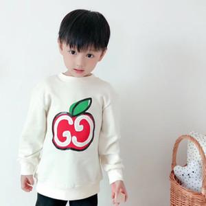 2020 nova Meninos Meninas dos desenhos animados T-shirt dos miúdos T For Boys Crianças Verão de manga comprida T-shirt Cotton Tops roupa roupa do bebê