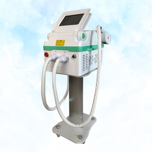 Newest product portable ND yag laser+ IPL OPT SHR 2 in 1 machine for tattoo pigmentation hair removal and skin rejuvenation
