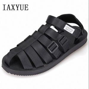 Ancient Roman Sandals Men Beach Shoes Baotou Cool Male Han Edition Leisure Shoes The New 2018 Summer Size 36 44 Sandals For Girls Chac 5dlu#
