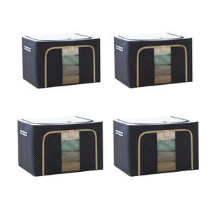 Guo Feng Diao Steel Frame Oxford Ploth Storage Box Scatola di immagazzinaggio Scatola di immagazzinaggio Pieghevole Armadio in tessuto Ampia grande sacchetto di archiviazione