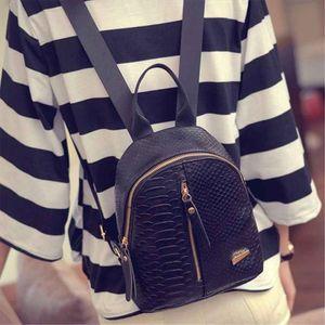 Cute Korean Small New Women Bag Packs Quality PU Leather Fashion Bags Mini Backpack womens backpacks Back Pack