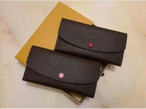 2020 Alphabet ladies long wallet multicolor classic fashion coin purse card holder female classic zipper bag red pink colour 6013# 20x10cm