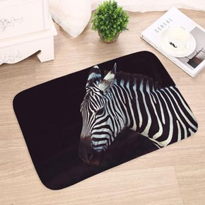 Kitchen Carpet Doors Entrance Living Rug Water Room Bathroom Non-slip Print Animal Absorption 3d Mat Mats Bedroom bbyJo sweet07