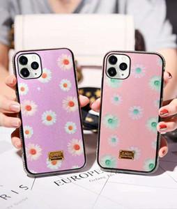 아이폰 (11) 프로 맥스 아이폰 12 데이지 생성 다이아몬드 스타일 Xsmax XS XR 6 7 8 SE 7plus 8plus 보호 유명 상표 휴대 전화 케이스