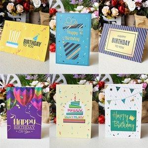 3d Üç boyutlu Tebrik Kartı Çiçek Doğum Kart Yıldönümü Hediye Kartpostal Unicorn Maple Kiraz Ağacı Düğün Davet Car Tebrik