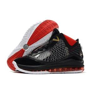 신발 스포츠 스니커즈 7-1 고품질 제임스기를 디자이너를 냉각 장치의 모든 카펫 페어팩스 농구 7 남성 화이트 블랙 레드 유리 블루 스타