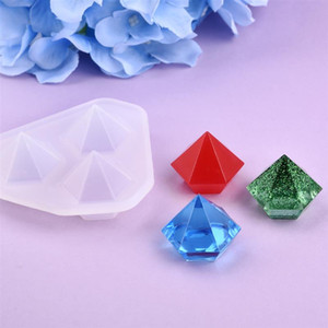 Diamond Silicone Mold Resin Casting Molds For Epoxy UV DIY Resin Jewelry Making Jewelry Tools Moulds