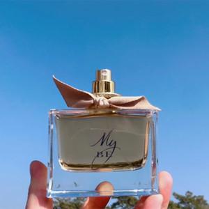 Der Umsatz!!!! Neue Ankunfts-Sliver Flasche Parfüm My Black 90ml 3.0FLOZ EDT Limited Edition Natural Spray Vaporisateur Langlebige kostenlose Lieferung