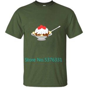 Lustige Sundae Männer T-Shirt T-Shirt T-Shirt für Männer Kleidung O-Ansatz Fitness Male Plus Size 2020 Hip Hop Dry Fit