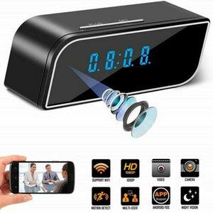 QZT Mini Clock Camera WIFI Full HD 1080P Smart Electronic Clock Camera Wireless Night Vision IP Secret For Home Security