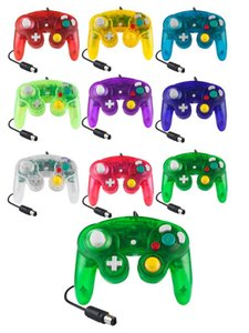 2020 NEW Transparent Wired Gamepad Joypad For For NGC Controller Used MAC Computer Console Port