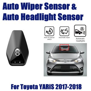 For Toyota YARiS L 2016~2019 Smart Auto Driving Assistant System Car Automatic Rain Wiper Sensors & Headlight R&D Sensor