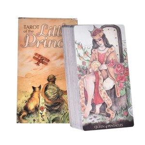 Rehberlik Güverte Küçük Oyunlar Aile Partisi Gizemli Kurulu Prens Tarot Oyunları Kartlar Kartlar Tam Oracle'ın 78pcs Tarot LAULC Of English