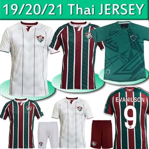 Fluminense 2020 21 de Futebol Ganso Fluzão FRED PHGANSO HUDSON NENE NINO HENRIQUE Futbol Camisas Futebol Camisetas masculinas Camisas topo