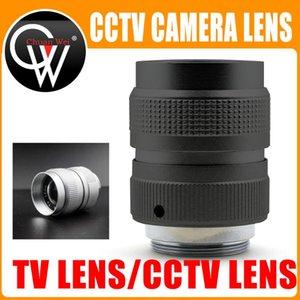 TV professionnel Objectif / Objectif CCTV objectif de la caméra industrielle pour monture C caméra 25 mm F1.4 en noir / argent