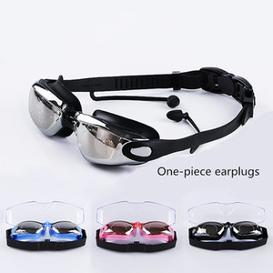 Factory Direct Sale High Quality Hot Selling Silicone High-Definition Swimming Goggles Adult Swimming Goggles Waterproof Anti-Fog Plating Sw