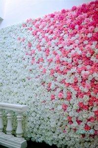 19style 8cm roses artificielles capitules tissu FlowersDecorative Fleurs mariage Bouquet bricolage Centerpieces Faux Couronne T2I5594