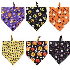 Halloween Pet Costume Theme питомца треугольника шарф животное слюна полотенце собака кошка шарф принадлежности фестивальные костюмы 70 * 48 * 48см T500177