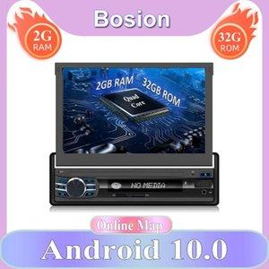 Audio de automóvil Android 10.0 1 DIN GPS Navegación Radio retráctil MEDIA AUTO MEDIA MEDIA MULTIMEDIA PLAYER MP5 MP5 Automático abierto
