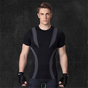Men's Short-sleeved,Men's Slim Corset Body Shaper Short-Sleeve, Breathable Stretch Underwear,Men's T-Shirts 0924