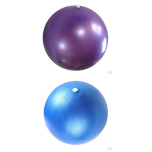 2 Count Mini Pilates Exercise Ball 6 Inch Small Yoga Core Balls Improves Balance Core Strength & Posture for Home & Gym & Office Training