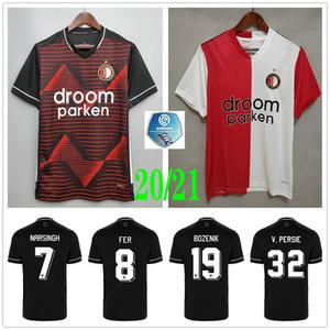 2020 2021 camiseta de fútbol Feyenoord KOKCU Berghuis FER JORGENSEN SINISTERRA Narsingh Toornstra inicio personalizada lejos camiseta de fútbol para adultos niños