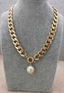 Dichiarazione collana del choker del collare collana classica nuziale regali di nozze imitazione perla collane d'oro collana di perle ciondolo