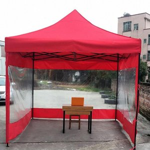 Outdoor Sun Protection Folding Tent Rain Cloth Shelter Cover Tent Accessories 9M Folding Practical Thin Section Transparent fHjF#