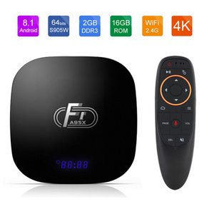 A95X F1 Android 8.1 Smart TV Box Amlogic S905W TV Box 2GB 16GB Support 4K WiFi PK X96 mini TVbox Set Top Box 2G16G
