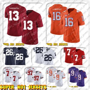 9-17 NCAA 13 Tua Tagovailo 16 Trevor Lawrence Alabama Crimson Tide 17 Josh Allen 49 Tremaine Edmunds 27 Tre'Davious White XMCVN