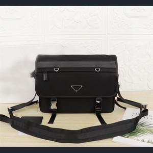 P Autumn winter 2020 waterproof material for men casual fashion one-shoulder cross-body flip mailman bag temperament business bag practical