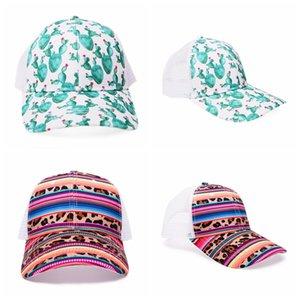 Leopard Impresso Baseball Caps coloridos listra bonés de beisebol Adultos Outdoor Sports Sunscreen Snapback Caps Party Hats Fontes RRA3211