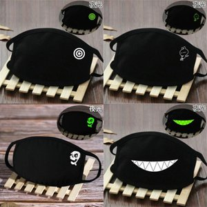 Breathability Facemask Masks In Skeleton Comfort Glow Dark And Comfort Bandana The Mask Skeleton And Face AuMvS home_hot