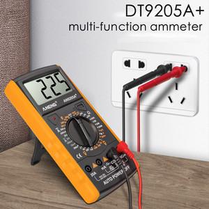 DT9205A + Multimetro digitale AC / DC Testore di Transistor Profesionale Tester elettrico ESR NCV Test Meter ANALOG AUTO GAMMA MULTIMETRO MULTIMETRO