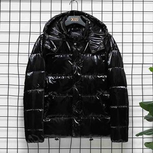 2020 New Men's Winter Hooded Cotton Coat Fashion Mens Thick Warm Down Padded Jacket High Quality Male Parkas 2 Colors Asian Size S-4XL
