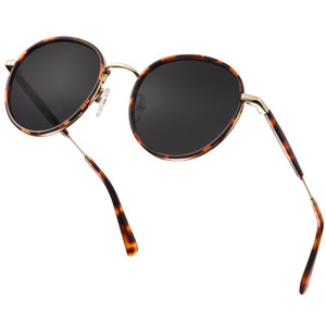 2020 Fashion Vintage Polarized sunglasses women round carfia 1949 new arrival sunglasses 50mm sunglasses for men UV 400 protection 4 colors